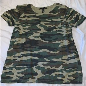 Forever 21 army shirt